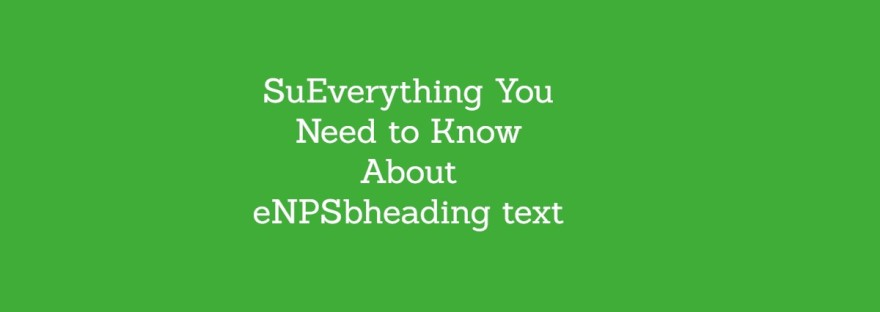 Everything You Need to Know About eNPS